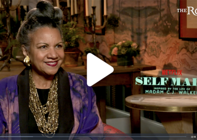 "A'Lelia's Interview on The Root About ""Self Made"""
