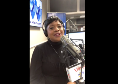WVON The Talk of Chicago: A'Lelia Talks with Samantha Thomas (46:00 in)