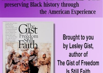 Gist of Freedom: Shellie Gaines interviews A'Lelia