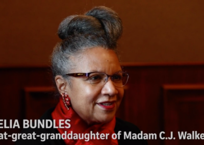 Indy Star Video: A'Lelia Talks about her work as Madam Walker's biographer with Suzette Hackney and Kelly Wilkinson
