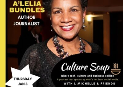 Culture Soup: L. Michelle Smith interviews A'Lelia about Madam Walker and Self Made