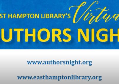 East Hampton Authors Night with Eric K. Washington