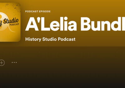 History Studio Podcast: A'Lelia Bundles