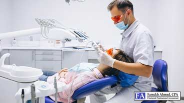 accounting services for dentist