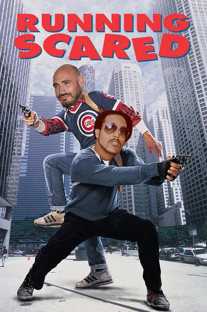 RunningScaredPosterCliff&Brian