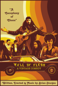 Wall of Flesh: A Vinatge Comedy Movie Poster