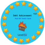 Pay off debt achievement