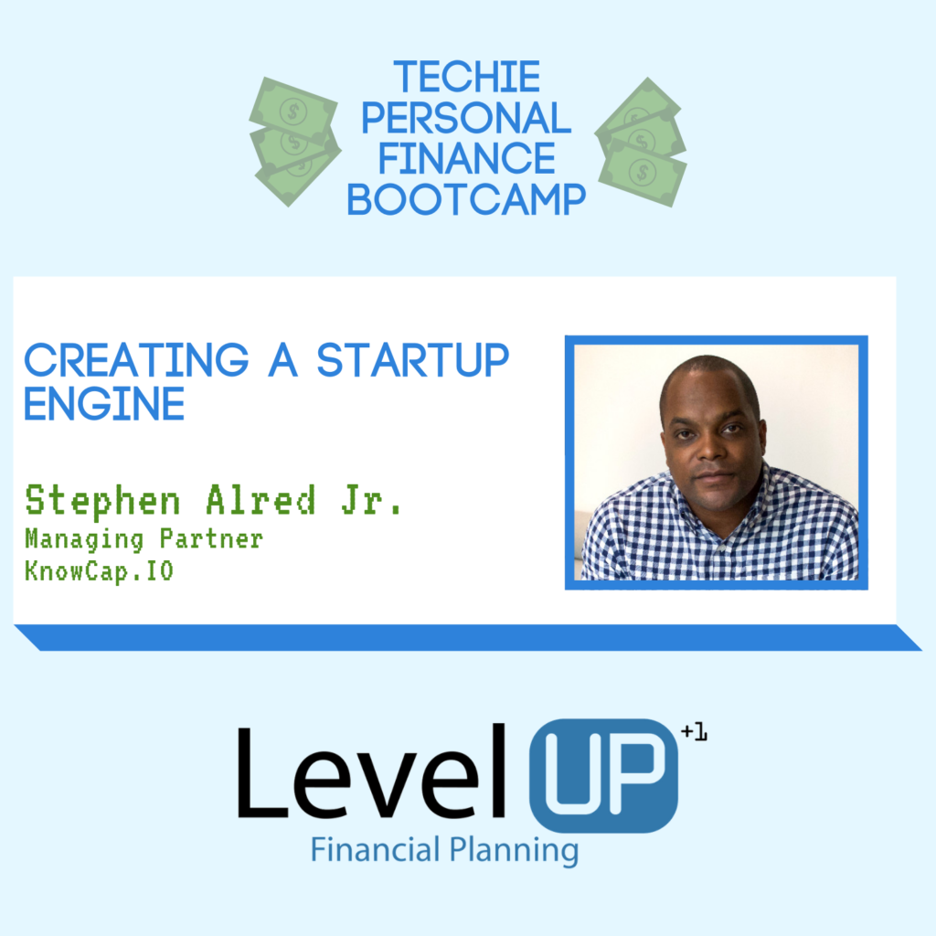 Stephen Alred Jr. on why he created a startup engine