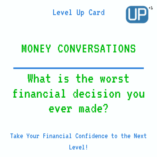 Married Couples Finances : What is the worst financial decision you ever made?