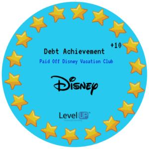 Disney Vacation Payoff