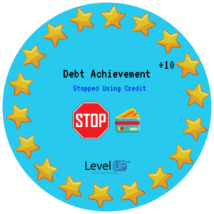 Stopped credit card debt