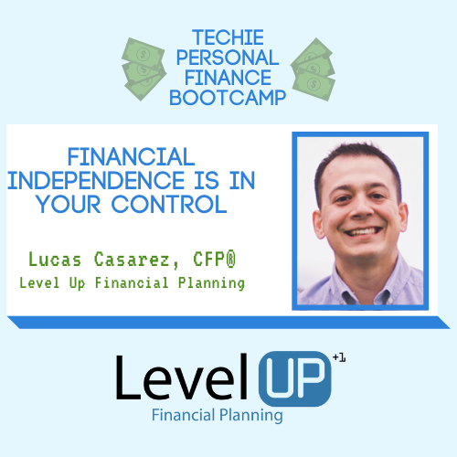 you can control financial independence