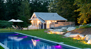 Poolhouse Exterior