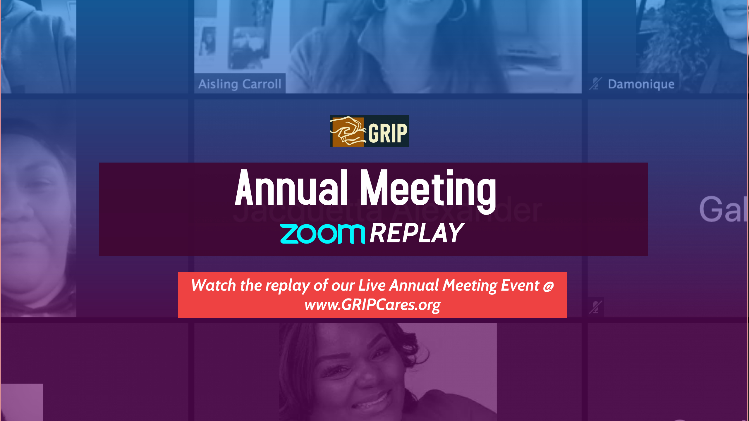 2021 Annual Meeting Replay