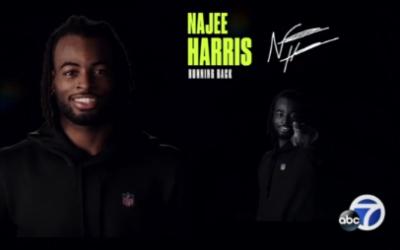 NFL draft prospect, Bay Area native Najee Harris visits homeless shelter where he once lived