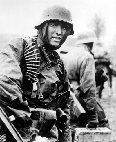 Soldier in World War II Public Domain