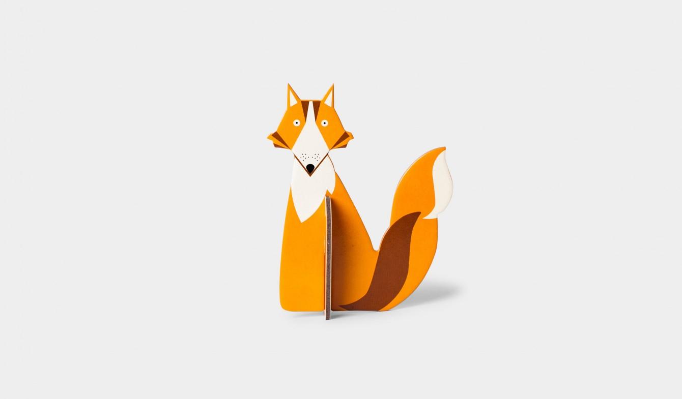 Wooden Fox