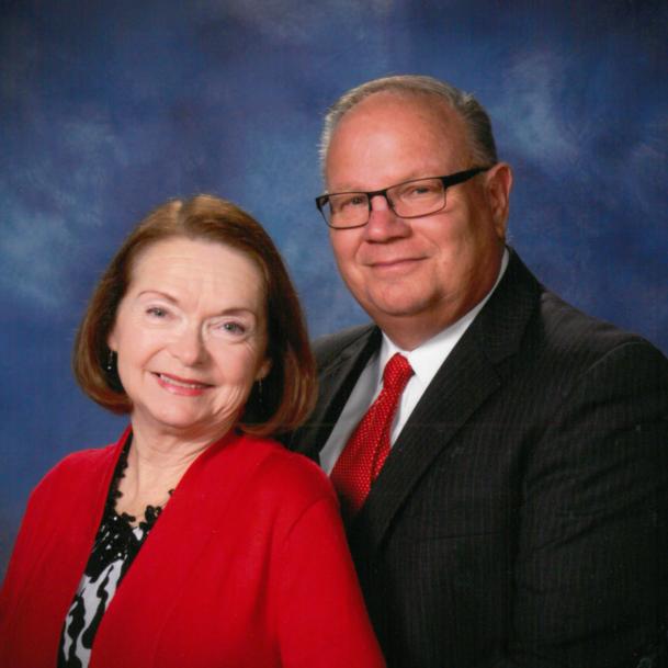 Pastor Marshall and Pat Stevens