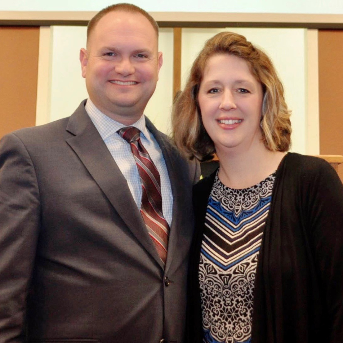 Ryan and Mindy Stevens Associate Pastor, Deacon, Registrar, Business Manager