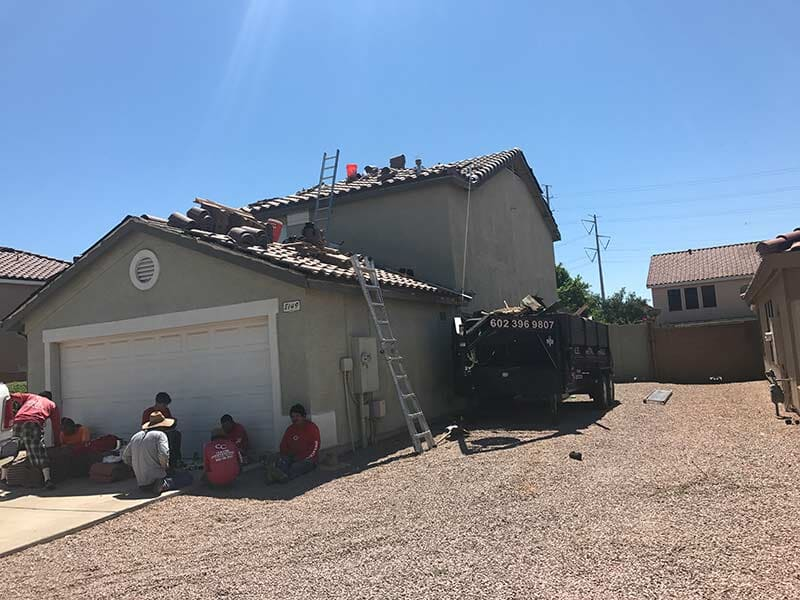 Tile Roofing Craven Construction Apache Junction Arizona