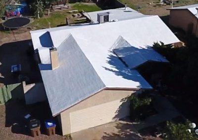 CravenConstruction-shingle-roof-foam-to-shingle-before