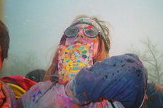 Queens' Holi Holi Captured in 35mm by Jin Lee