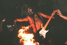 Just A Little Fireplay & Drumsurfing with Daikaiju at Palisade