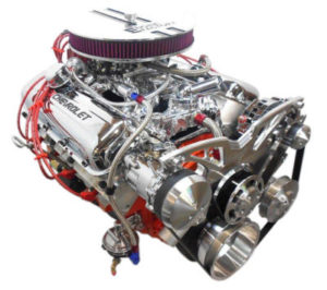 Engine Factory Chevy 502 engine 510 HP
