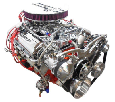 Engine Factory Chevy Performance Engines Horsepower Choices