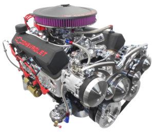 Engine Factory 350 Black Valve cover