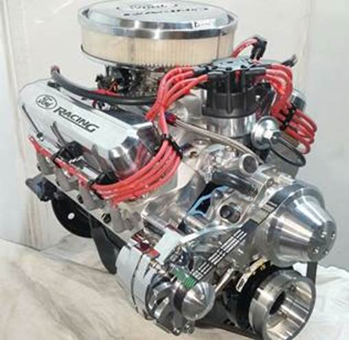 Engine Factory Option 2 Ford alternator only