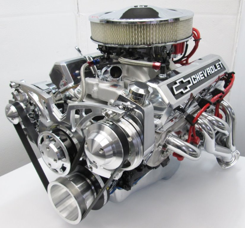 Engine Factory Chevy Engine build by Tim Nelson Build