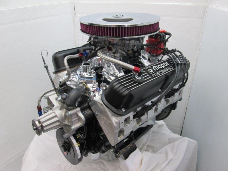 Engine Factory Mopar Engine by Tim Nelson