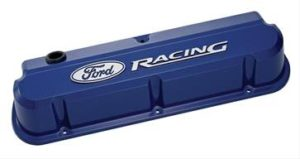 Ford Racing Valve Cover Blue