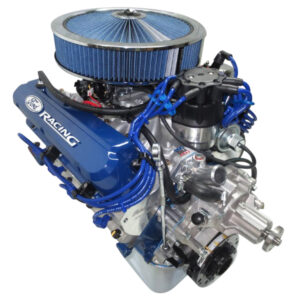 #13 - 302 Ford Blue Valve Covers and Air Cleaner