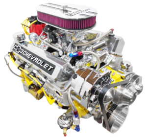 #15 - 350 Yellow Block, Yellow wires, Alt, PS, and Holley Carb