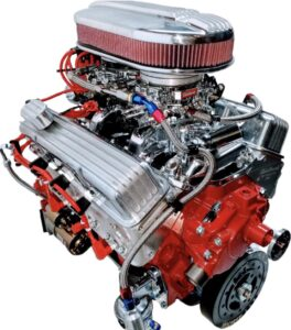 #9 - 350 with Dual Quad Carbs