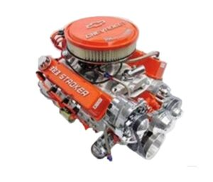 #17Chevy Stroker 383 / 450 HP with Alternator and P/S