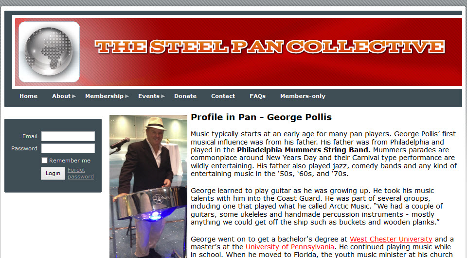 Pan Colletive Article George Pollis Reel Ting
