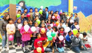 Some of the children from the Fundación El Arenal program in Cuenca, Ecuador.