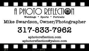 A Photo Reflection - Videography Service - Fortville Indiana  Carmel  Business card