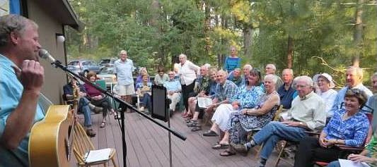 A PRIVATE CONCERT IS A FUN WAY TO GATHER YOUR FRIENDS TOGETHER