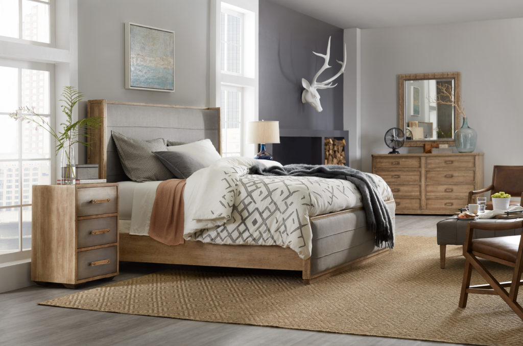 Hooker American Life Urban Elevation Bedroom