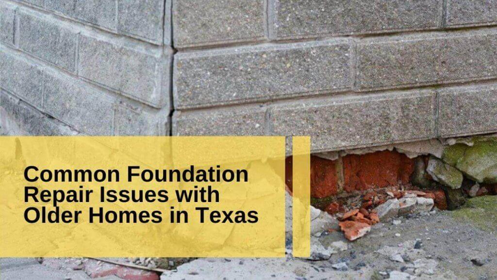 foundation repair older homes