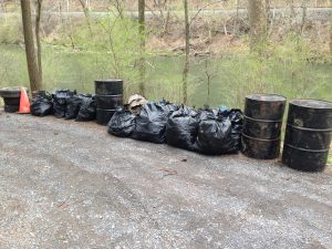 some of the items pulled out of the Gorge by boaters in 2014