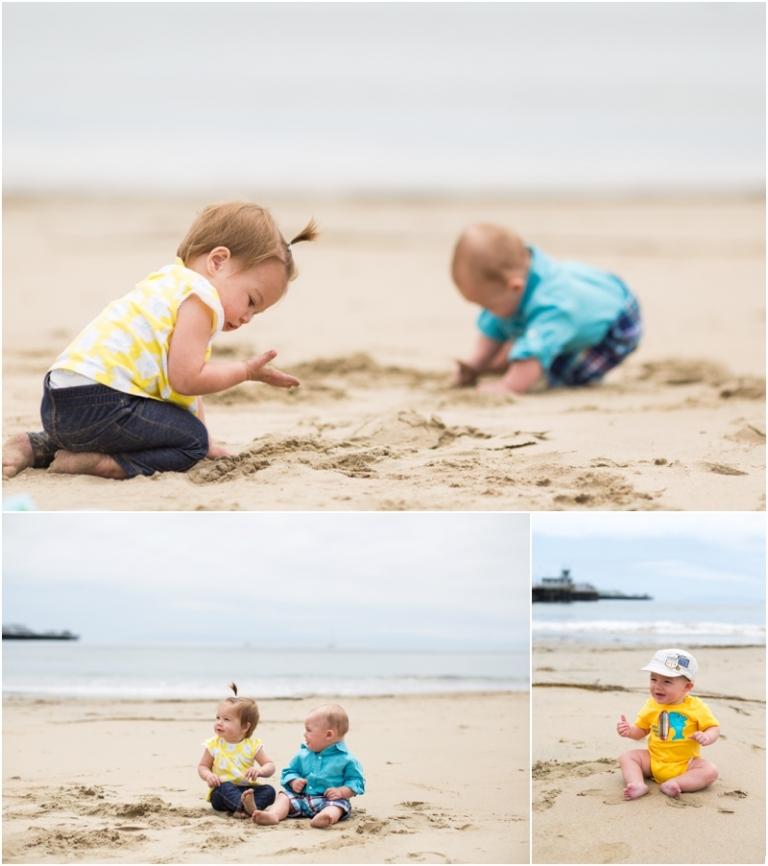Beach Baby Photos - Green Vintage Photography
