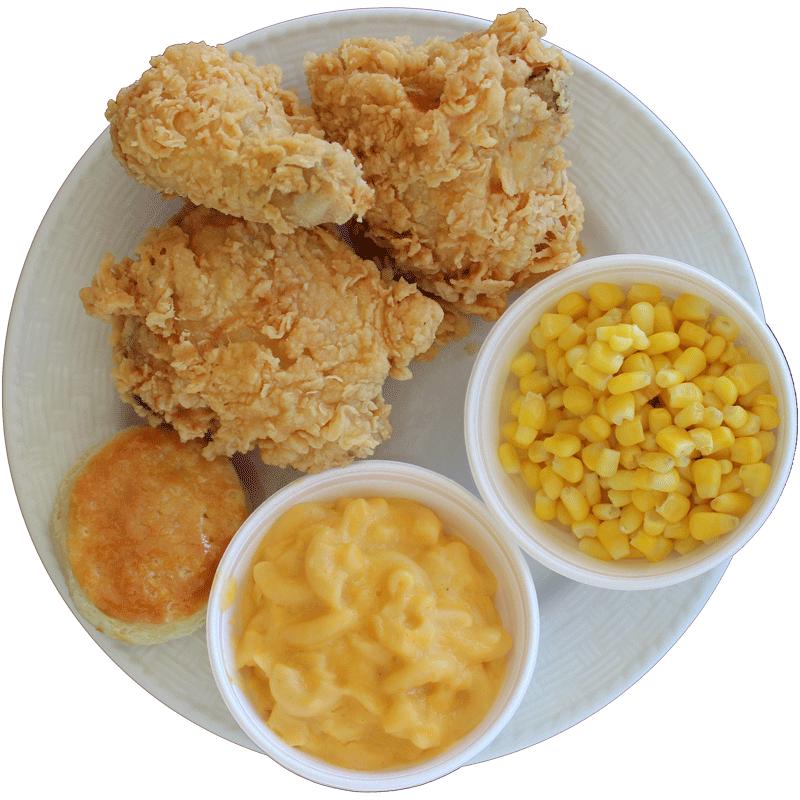 3 PC. Crispy Chicken Dinner from Rick's Crispy Chicken