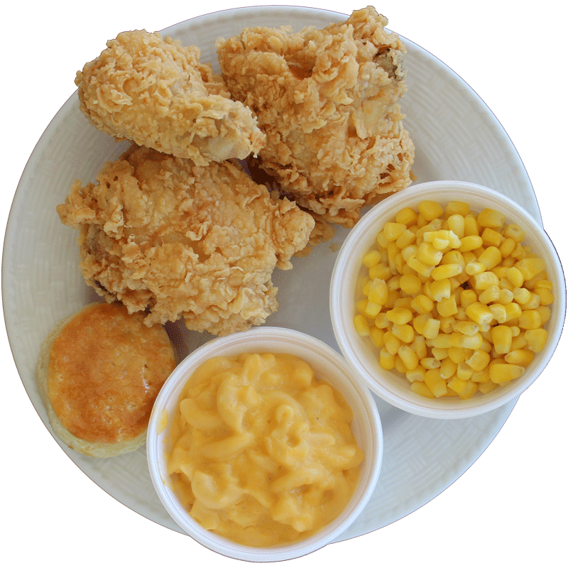 3 PC. Crispy Chicken Dinner from Rick's Crispy Chicken