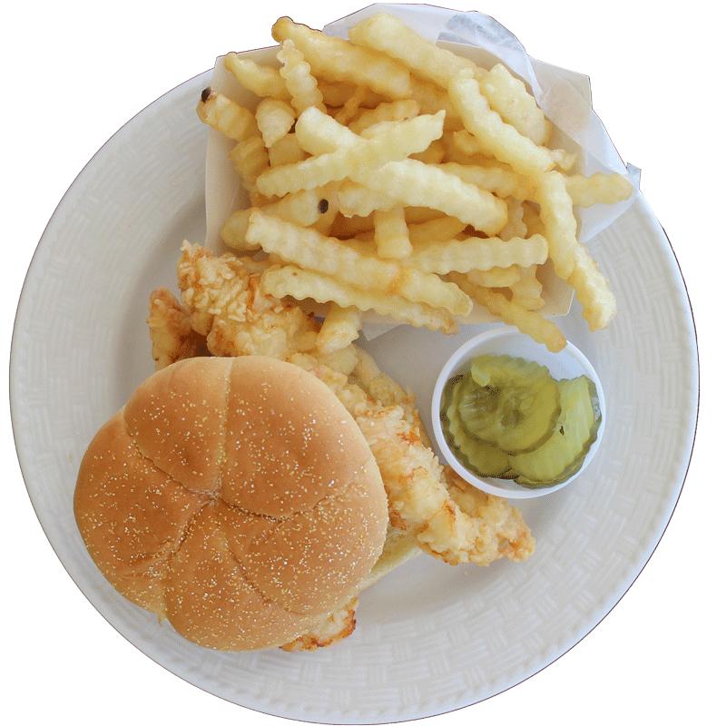 Crispy Chicken Sandwich from Rick's Crispy Chicken