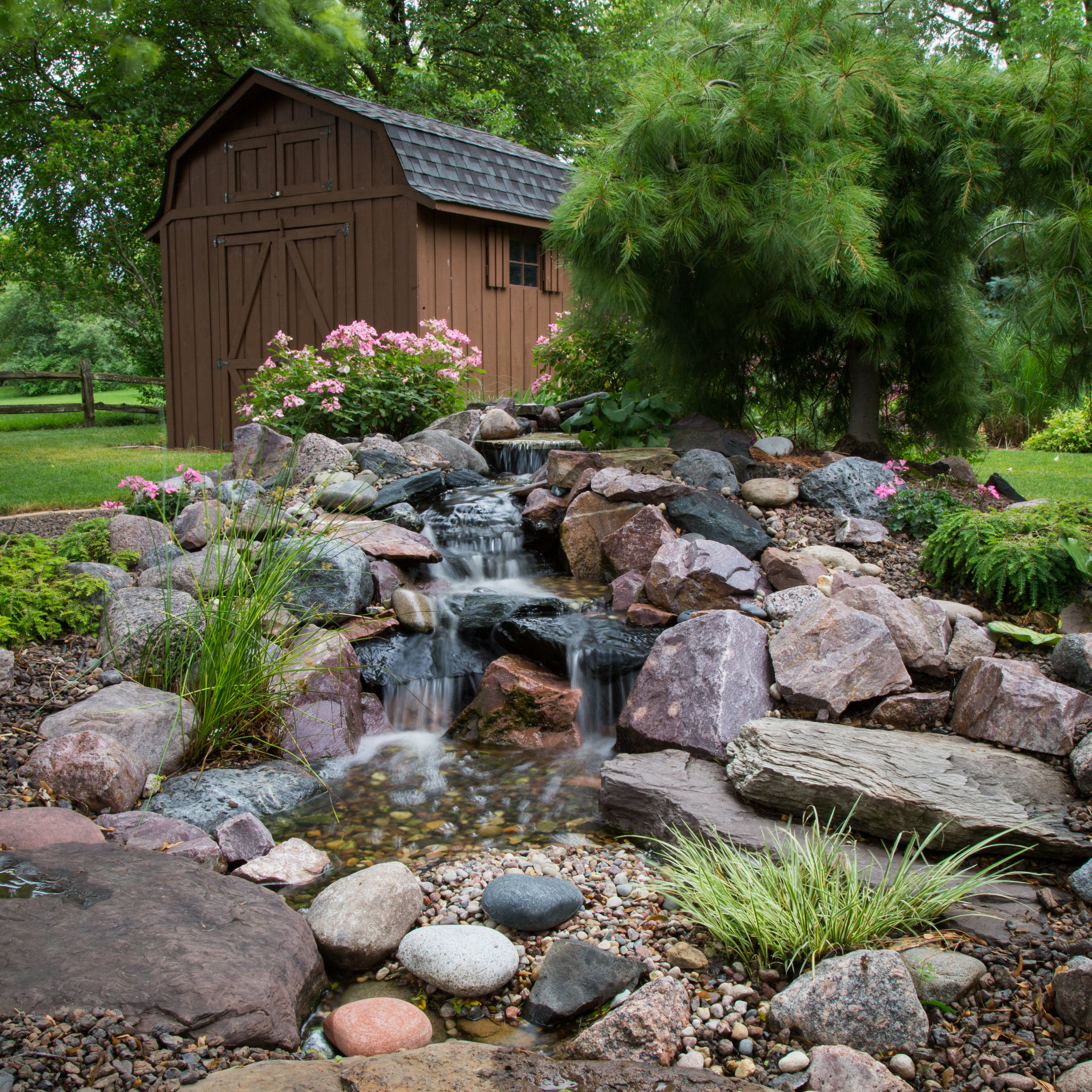 Small 6ft Pondless Waterfall_02